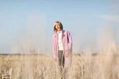 Oversized lilac coat from sisterMAG N° 4 #fashion #wardrobe    Photo: Ashley Ludäscher
