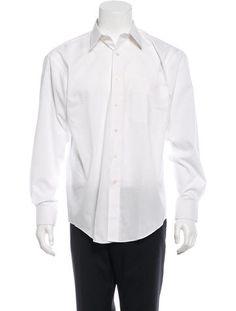 Yves Saint Laurent Long Sleeve Button-Up Shirt
