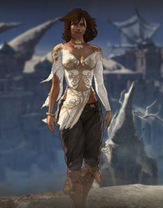 Princess Elika form 2008 Prince of Persia game.