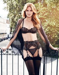 "Myla London AW2014 Lingerie Collection ~ 'Wren"" Set"