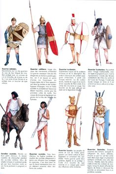 Mercenari dell'esercito di Annibale, seconda Guerra Punica