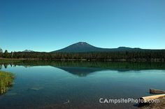 Little Lava Lake Campground in Oregon is part of a string of over 150 lakes within an 87 mile radius.