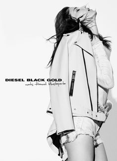Hanneli Mustaparta by Theo Wenner for Diesel Black Gold