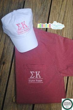 Sigma Kappa Bundle: T-Shirt and Baseball Hat