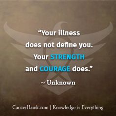 Motivational Fighting Cancer Quotes | CancerHawk                                                                                                                                                      More