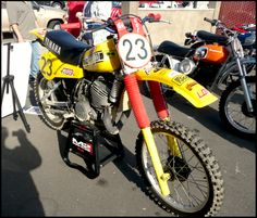 Moate's 1980 USGP Yamaha...