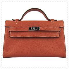 Hermes Kelly Bag 22CM Brown