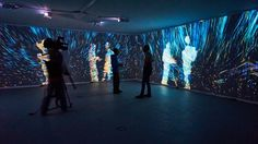 Quantum Space / interactive room By Kuflex.com