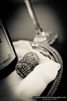 Champagne Bottle - Graham Baker Photography Photography Services, Photography Ideas, Wedding Photography, Champagne Corks, Wineries, Graham, Wedding Details, Real Weddings, Greek