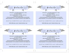 Printable Wedding Invitation Template Set by JazzHandsPaperCo Wedding Invitation Images, Free Wedding Invitation Templates, Kraft Wedding Invitations, Rustic Invitations, Invitation Paper, Birthday Template, The Wedding Date, Menu Cards, Menu