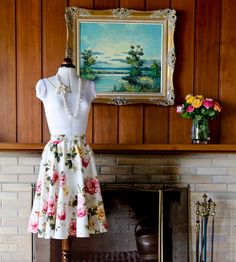 DIY Circle Skirt Tutorial - LifeStyle HOME