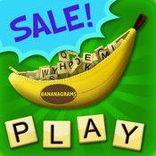 Bananagrams  - LOVE THIS GAME.   Love Love Love!