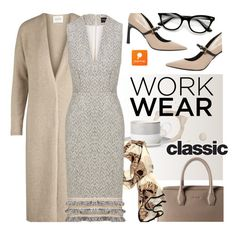 """Classic Work Wear"" by ansev ❤ liked on Polyvore featuring B by Brandie, Lanvin and popmap"