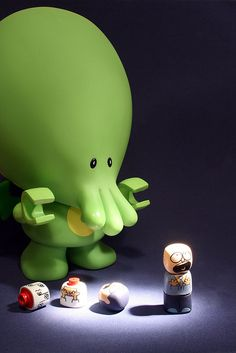 My Lil Cthulhu ♥ lovesgraphic art toys collection!