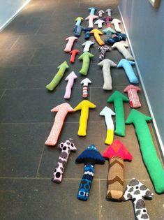 Textile arrows