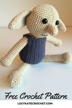 Free crochet Dobby toy pattern