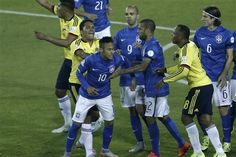 Neymar Receives Red Card vs. Colombia: Latest Details, Comments, Reaction