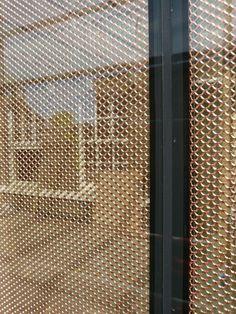 Metal Railings, Glass Railing, Door Dividers, Warehouse Design, Expanded Metal, Lobby Interior, Interior Decorating, Interior Design, Steel Furniture
