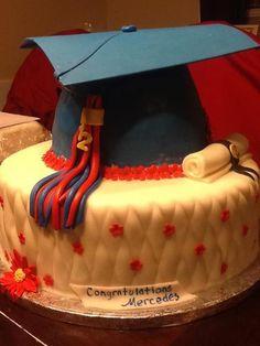 - graduation cake