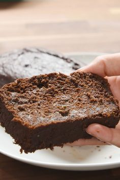 This chocolate zucchini bread is super chocolatey and delicious. But the best part? It's actually good for you.