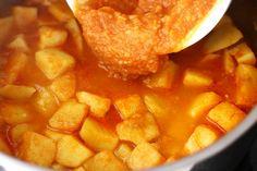 Mâncare de cartofi (tocăniță) simplă, de post   Laura Laurențiu