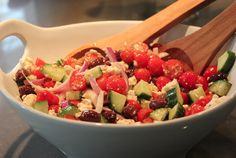 Try this Low Calorie Orange Vinaigrette Salad Dressing. So yummy and healthy =>  http://www.flaviliciousfitness.com/blog/2013/01/17/low-fat-recipes/