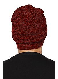 HOTTOPIC.COM - Red Marled Beanie  It would hella go with my bitchin'est sweater.