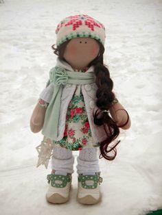Gallery.ru / Photo # 11 - Ma première poupée. Fabriqué par copyright par Tatiana K - novilar