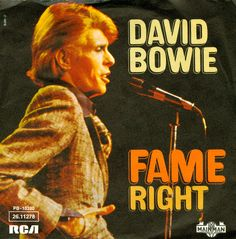 September 20, 1975 - 'Fame' gave David Bowie his first No.1 in the US. The song was co-written with John Lennon. •• #davidbowie #thisdayinmusic #1970s #johnlennon