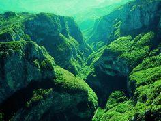 Susice Canyon, Durmitor National park, Northwest Montenegro. UNESCO World heritage Site ✯ ωнιмѕу ѕαη∂у
