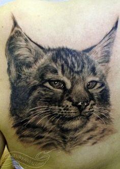 realistic tattoos | Oleg Turyanskiy - Lynx
