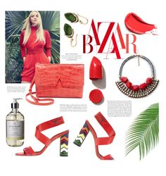 """""""thinking of summer time..."""" by agnesfrs ❤ liked on Polyvore featuring NARS Cosmetics, Vince, Palm Beach Collection, MANGO, Palm Beach Jewelry and Summer"""