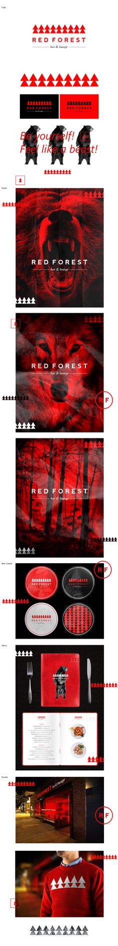 RED FOREST, Identity © Berik Yergaliyev. Not 100% onboard with all of this but some lovely stuff also.