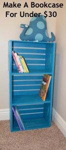 Make a Bookcase tutorial- I use something very similar in the kids Ger at Pennsic it's great because we pack and stack them to get there turn them on there sides as shelves for the duration.