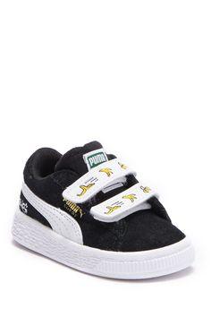 8f70438fb20e71 Minions Suede V Sneaker (Toddler). MinionsDallasBoys ShoesFree ...
