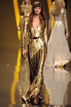 5 Ultra Glam Gowns To Drool Over, Courtesy Of Elie Saab Fall 2012 : Slaves to Fashion: Fashion: glamour.com