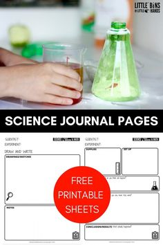 Printable Kids Scien