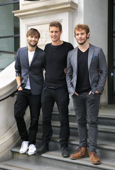 Douglas Booth, Max Irons + Sam Claflin Attend The Riot Club Photocall image Douglas Booth Max Irons Sam Claflin Riot Club2
