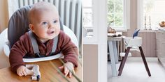 Your child can comfortably sit at the dining table and enjoy mealtimes with the rest of family with Stokke Steps!