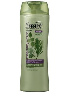suave rosemary mint shampoo. I LOOOVEEE Aveda products, but now that I am broke. I cannot afford them :( So i was so excited to see this. Works just as well. It cleans hair well, removes build up, and doesn't strip hair. The mint helps scalp feel revitalized. It also smells wonderful.