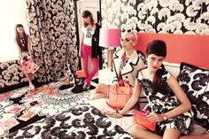 Love the new Kate Spade 2012 ad campaign!