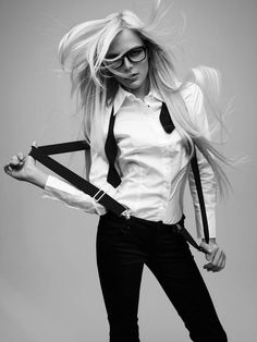 hair, fashion, black and white, photography