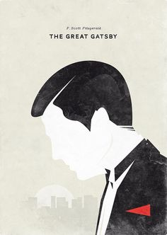 Classroom decoration?  Great Gatsby poster by Hannes Beer, http://www.the-living-conspiracy.net/.