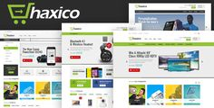 Haxico v1.0 is fully responsive and retina ready Magento theme that was designed in a clean and concise manner, which will be a perfect fit for electronics, digital, mobile, and other eCommerce projects that sell tech gear or other goods. With 4 demos included this theme is suitable for...