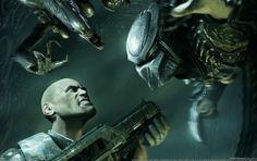 Alien Vs Predator, aliens, console, games wallpaper Top 10 Wallpapers, Alien Vs Predator, Console, Stock Photos, Games, Aliens, Gaming, Roman Consul, Plays