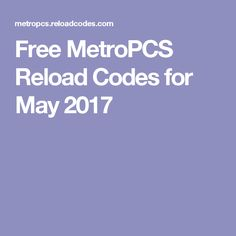 Free go phone reload card codes are here visit this website and free metropcs reload codes for may 2017guess what i found a site thats giving metropcs fandeluxe Choice Image