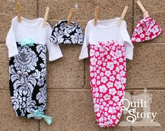 Quilt Story: Baby Gown Tutorial