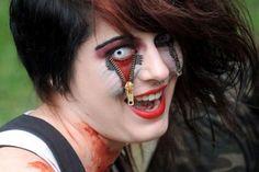 Halloween Face Tattoo