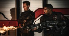 https://www.youtube.com/watch?v=UEhsFEgsI5U HBO's adaptation of Ray Bradbury's classic sci-fi dystopian novel Fahrenheit 451 has its first big teaser trailer. The project stars…