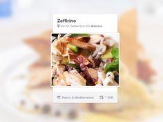 Restaurant Profile Widget by ZamfirKim
